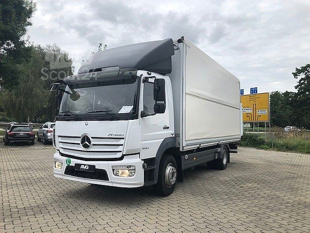 mercedes benz atego 1530 l wingliner lkw pritsche plane. Black Bedroom Furniture Sets. Home Design Ideas
