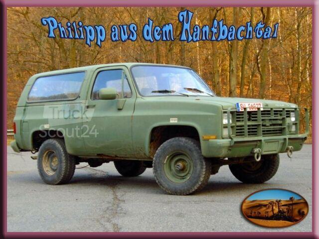 Chevrolet Chevy M1009 Us Army 4x4 Utility Truck Hardtop Transporter Pick Up In 53773 Hennef Gebraucht Kaufen Bei Truckscout24