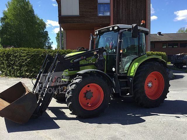 claas ares 557 landmaschine traktoren schlepper in. Black Bedroom Furniture Sets. Home Design Ideas