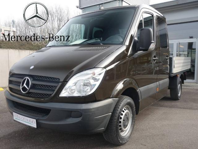 mercedes benz sprinter 316 cdi doka pritsche transporter pritschenwagen in asperg gebraucht. Black Bedroom Furniture Sets. Home Design Ideas