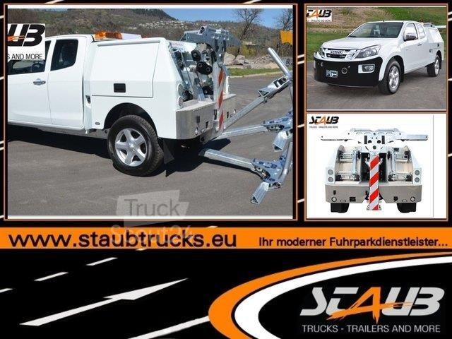 isuzu d max staub hubbrillenfahrzeug transporter. Black Bedroom Furniture Sets. Home Design Ideas